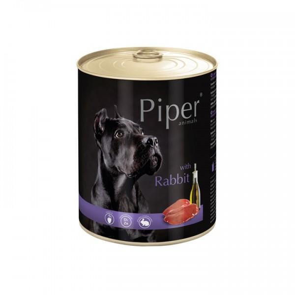 Piper with Rabbit  храна за кучета - консерва