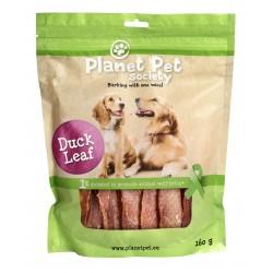 Planet Pet Duck Leaf - Лакомство от патешки гърди от прясно месо 160 грама