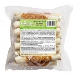 Planet Pet Filled rawhide stick with chicken - деликатесно лакомство от телешка кожа и пилешко месо