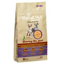 Planet Pet Society Sensitive Dog - суха храна с агнешко, за чувствителни кучета за възрастни над 1 год.