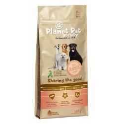 Planet Pet Society Sensitive Dog - суха храна със сьомга, за чувствителни кучета за възрастни над 1 год.