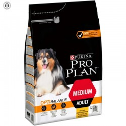 Purina Pro Plan Medium Adult OptiBalance - Храна за Кучета от Средни Породи с пиле 3кг. - ПРОМОЦИЯ - ДО ИЗЧЕРПВАНЕ НА КОЛИЧЕСТВАТА