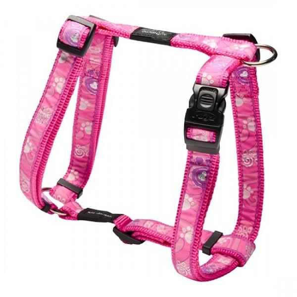 Rogz Pink Paw Рогз Нагръдник за Куче