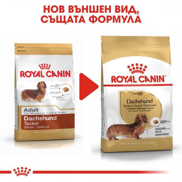Royal Canin Dachshund Adult - порода Дакел в зряла и напреднала възраст