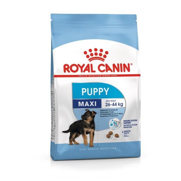 Royal Canin Maxi Puppy - Промоция 6 + 1