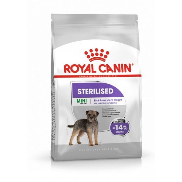 Royal Canin Mini Sterilised - Роял Канин Храна за Кучета от Дребните Породи Кастрирани