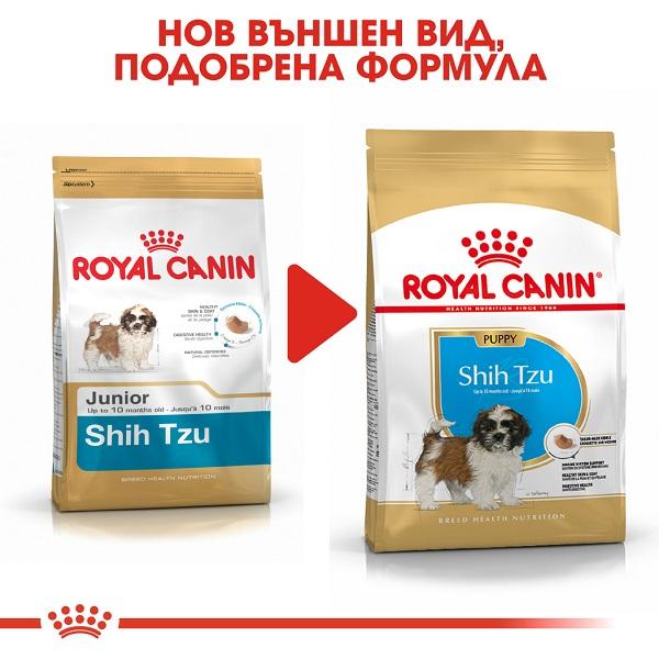 Royal Canin Shih Tzu 28 Puppy - Роял Канин Храна за Кучета от Породата Ши Тцу от 2 до 10 месеца.