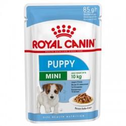Royal Canin Mini Puppy Pouch - Роял Канин консервирана храна за Кучета от Миниатюрните породи - подрастващи