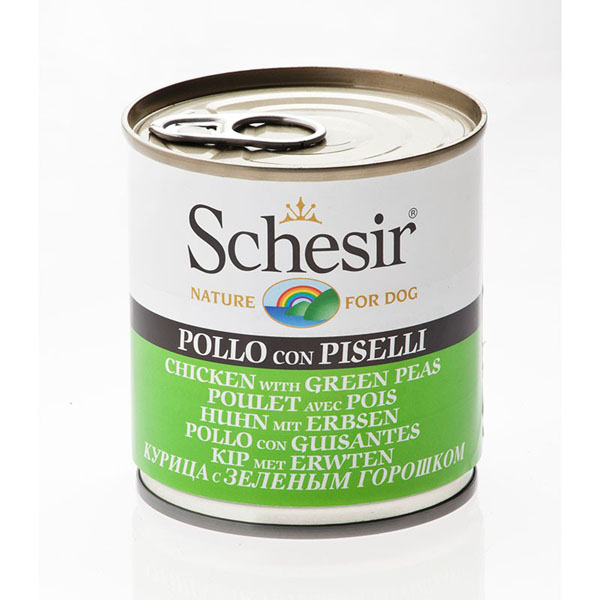 Schesir Nature Chicken with Green Peas - Пилешко със зелен грах