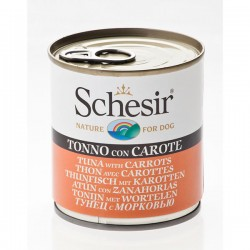 Schesir Nature Tuna with Carrots - с риба тон и моркови 285 грама