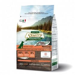 Stuzzy Monoprotein Grain Free Maintenance Salmon Small - пълноценна храна със сьомга, за кучета малки породи