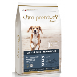 Ultra Premium Direct Adult medium breeds - Промоция 12кг + 4 пауча и 1 консерва подарък