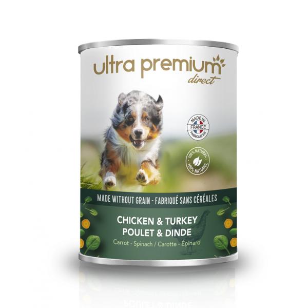 Ultra Premium Direct, Terrine Chiken&Turkey, месен терин пиле&пуешко, 400 гр