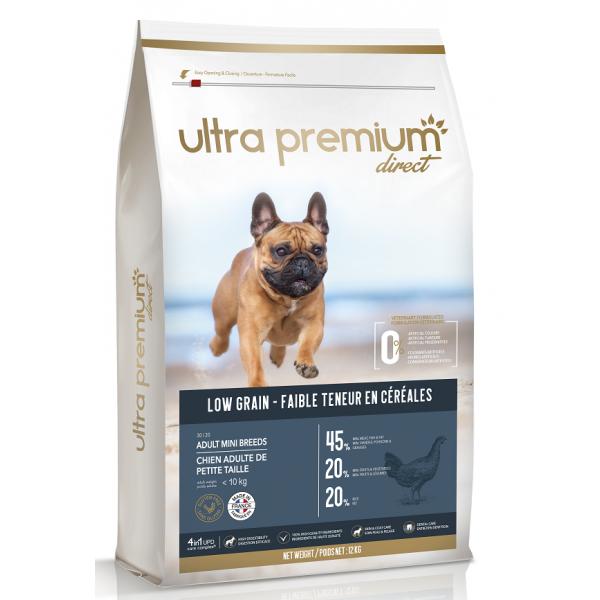 Ultra Premium Direct Puppy mini&medium breeds - суха храна за подрастващи кученца от дребни и средни породи