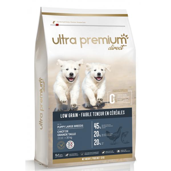 Ultra Premium Direct Puppy large breeds, суха храна за подрастващи кученца от едри породи