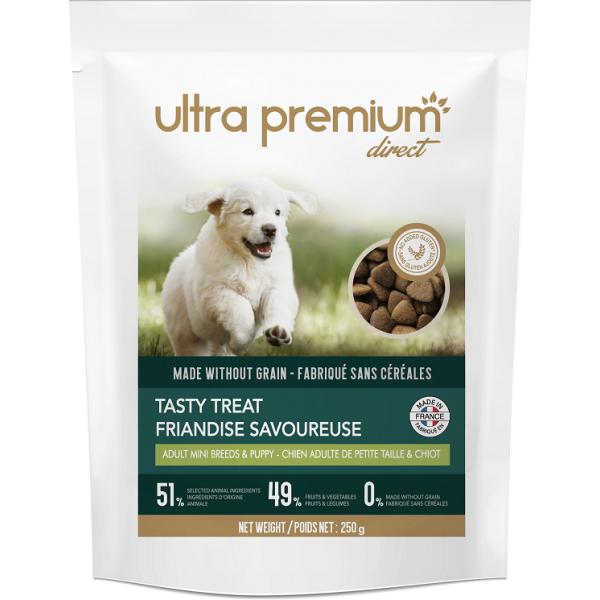 Ultra Premium Direct, Tasty treat-adult mini breeds and puppy, лакомство, за пораснали кучета от малки породи и подраставащи кученца