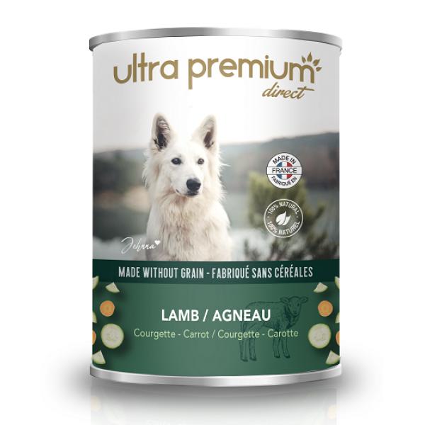 Ultra Premium Direct, Тerrine Lamb, месен терин с агнешко и свинско, без зърно, 400 гр