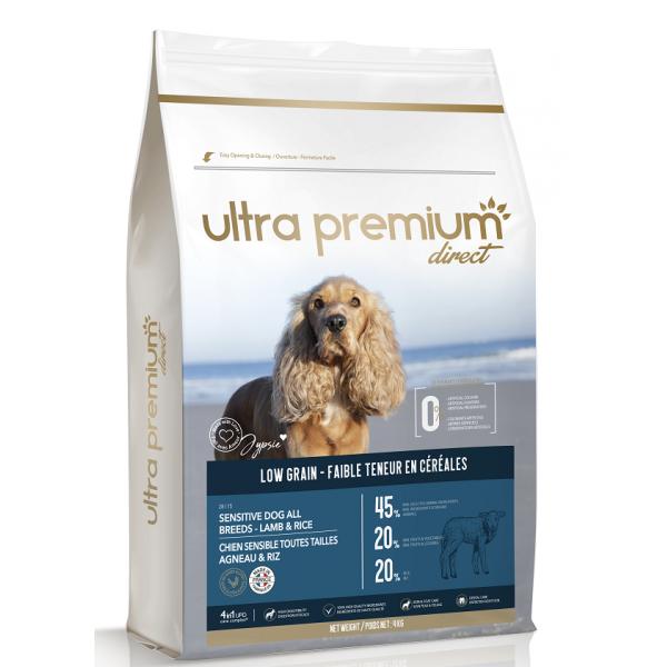 Ultra Premium Direct Adult sensitive all breeds lamb&rice, суха храна за пораснали чувствителни кучета