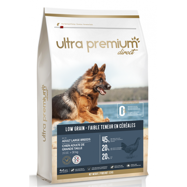 Ultra Premium Direct Adult large breeds - суха храна за пораснали кучета от едри