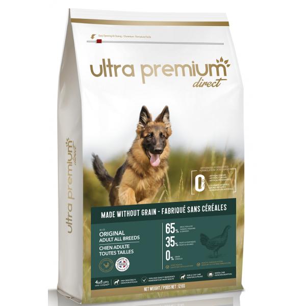 Ultra Premium Direct Original Adult all breeds, суха храна за пораснали кучета от всички породи