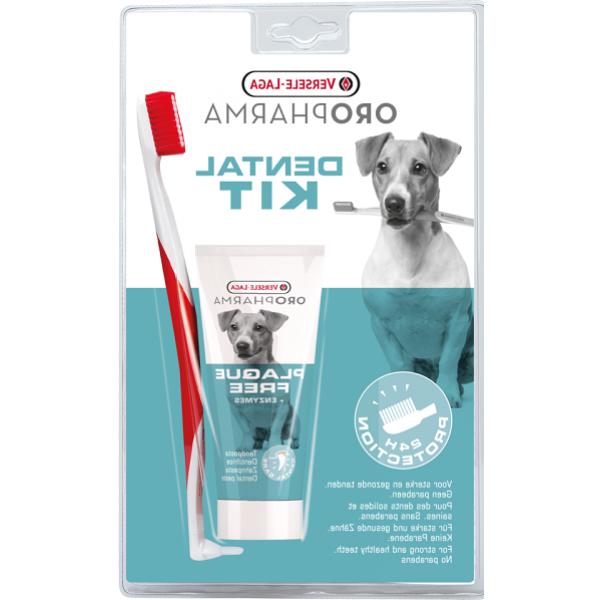 Versele - Laga Dental Care Kit  Toothpaste + Toothbrush - Четка + Паста за Зъби за Кучета